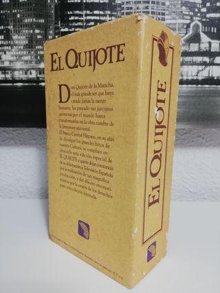 CAJA 2 PELÍCULAS VHS 'EL QUIJOTE'