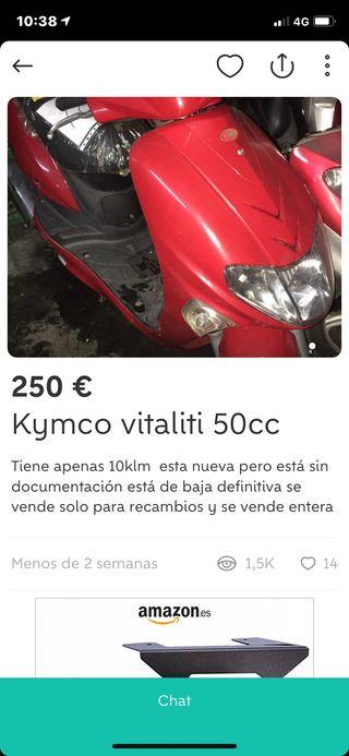 Kymco vitaliti 50