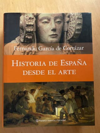Libro historia de España desde el arte