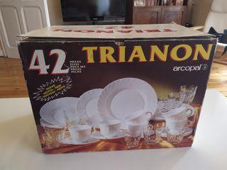 Vajilla Arcopal trianon blanca