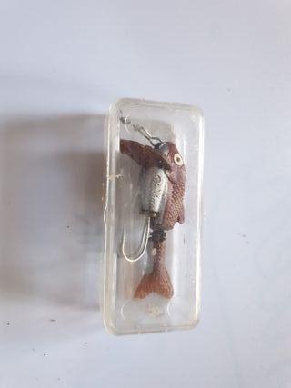 señuelo de pesca para coleccionista.