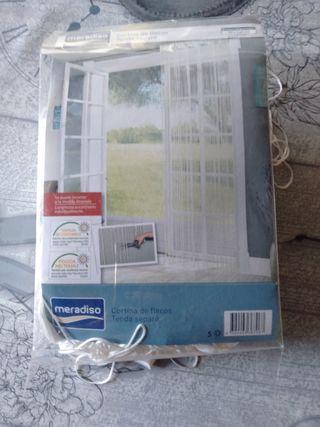 cortina de hilos