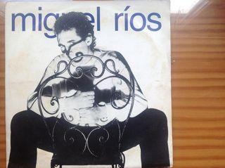 DISCO SINGLE DE MIGUEL RÍOS AÑO 1990