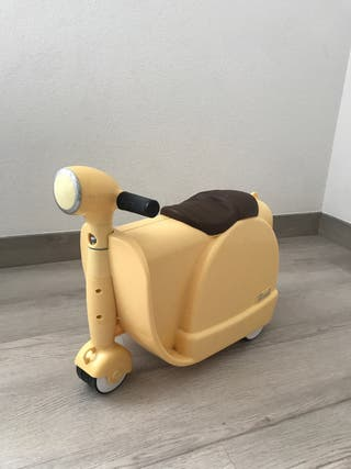 Moto maleta bebe