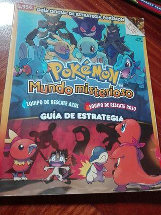 Guía oficial Pokémon Mundo Misterioso Azul y Rojo