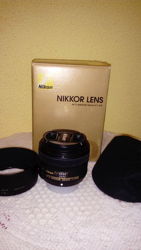 Objetivo Nikon 50mm 1.8G