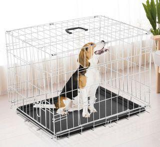Jaula plegable perro mediano NUEVA