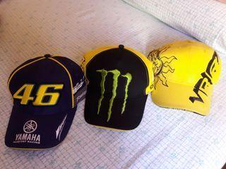 Gorras y camiseta Valentino Rossi