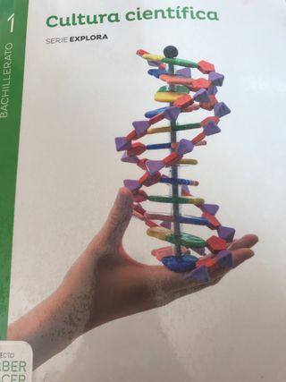 Libro cultura científica 1bachillerato