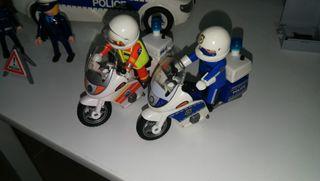 Lote Playmobil. Policía y Bomberos. City Action.