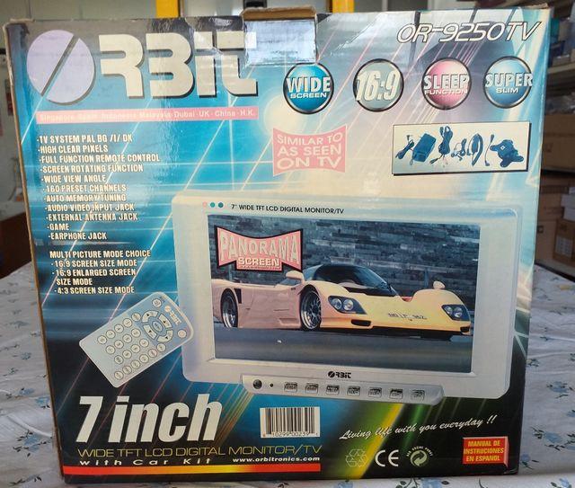 "TV / monitor 7"" LCD Orbit- nuevo"