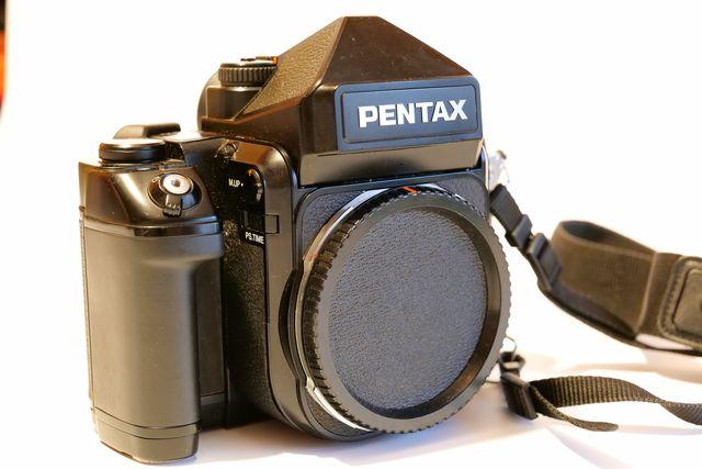 PENTAX 67II Formato medio
