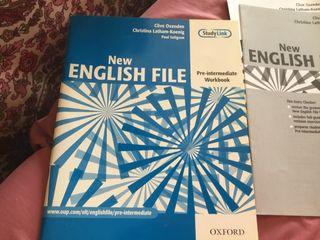 New English File, libro estudio/actividades inglés