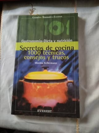 Libro Cocina. Secretos de Cocina
