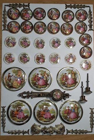 Despice de Limoges, motivos Románticos.