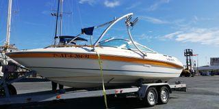 Barco SeaRay 170 br Ltd + remolque doble eje