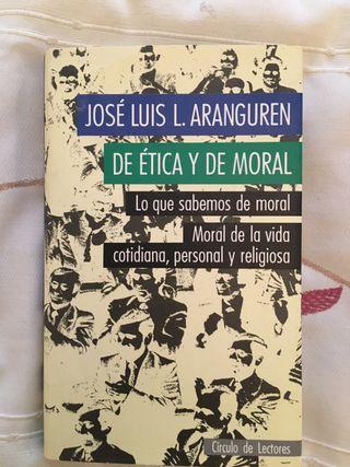 DE ÉTICA Y DE MORAL libro