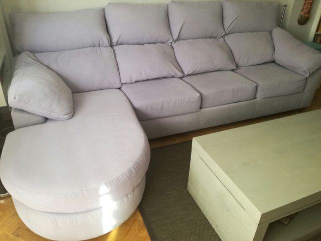 Sofá cama tres plazas+chaise longue superprecio
