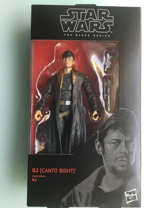 Star Wars The Black Series Dj ( Canto bight )