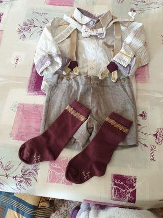 conjunto vestir niño 9 meses