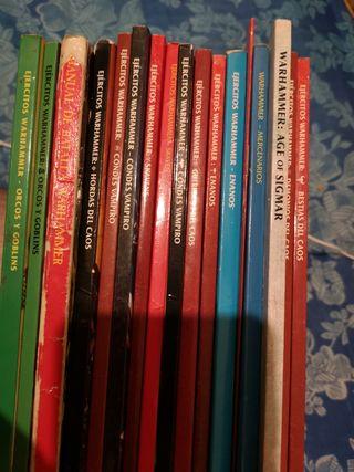 lote libros warhammer