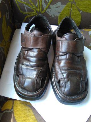 Sandalias cerradas hombre Panamá Jack
