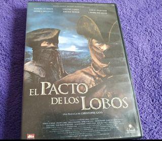 EL PACTO DE LOS LOBOS (PELÍCULA DVD)