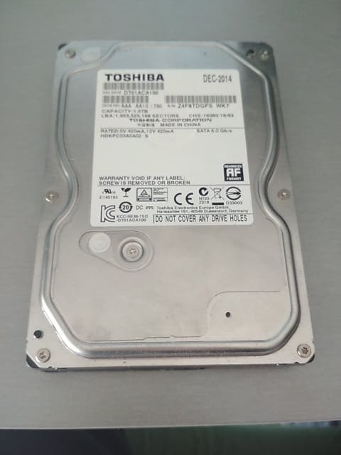 """disco duro toshiba 1 tb 3.5"""" sata3"""