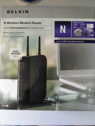 Router Belkin N Wireless