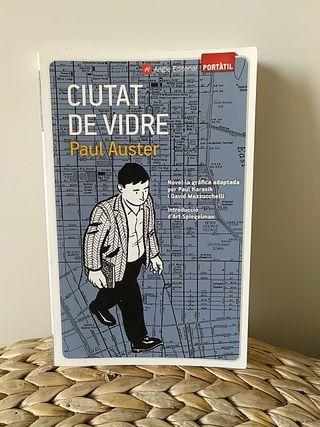 Paul Auster. Ciutat de vidre. novela gráfica