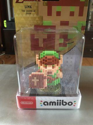 Amiibo link zelda 8bits Nintendo switch