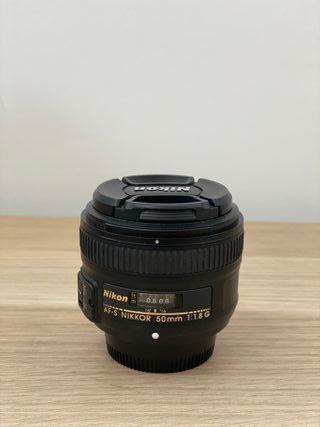 Objetivo Nikon AF-S 50mm 1:1.8G