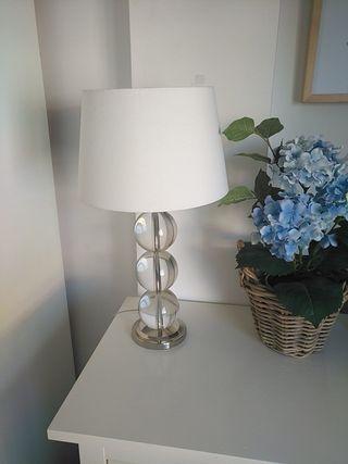 Lámpara ZARA HOME bolas cristal