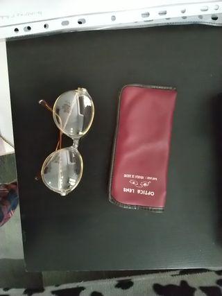 gafas antiguas vintage de señora