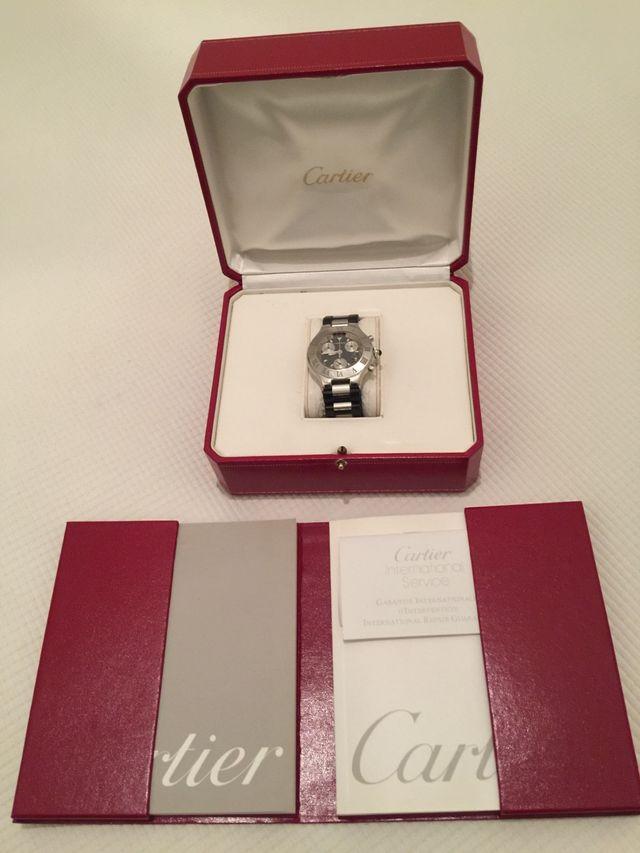 Cartier Must 21 Chronoscaph