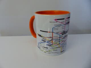 Taza Metro Madrid