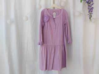 Almatrichi vestido color malva Talla S