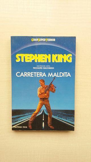 Libro Carretera Maldita. Stephen King.