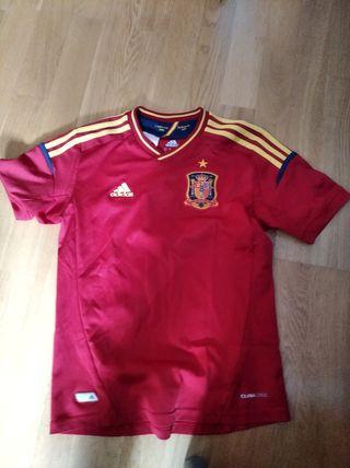 Camiseta Futbol España