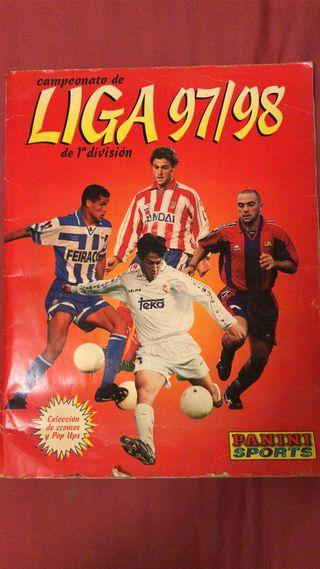 Álbum Cromos Liga 97-98