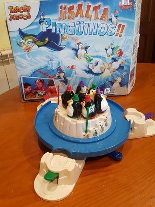 Juego de mesa ¡¡Salta Pingüinos!!