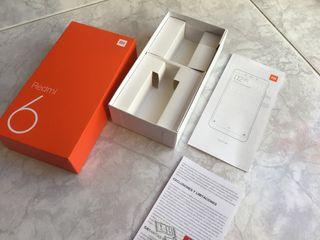 caja Xiaomi redmi 6