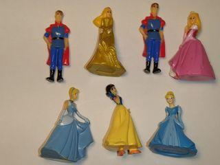 Princesas Disney figuras pequeñas