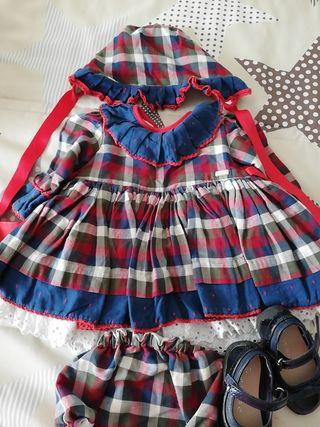 vestido amapola 18 meses