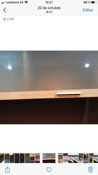Mueble de 3 módulos y mesa de centro