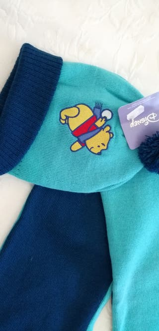 bufanda+gorro Winnie the Pooh
