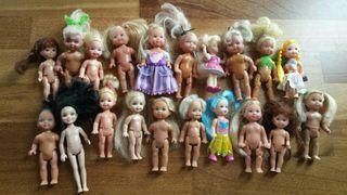 Lote muñecas