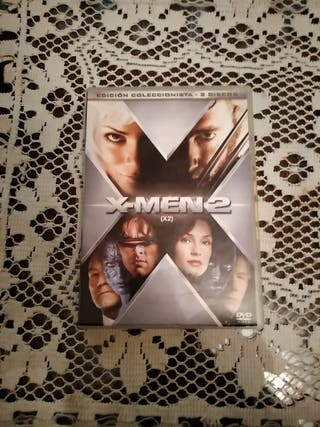 DVD X-MEN 2 edición coleccionista