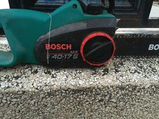 Motosierra Bosch eléctrica
