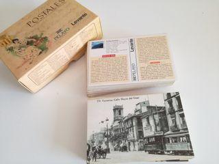 Colección de postales.